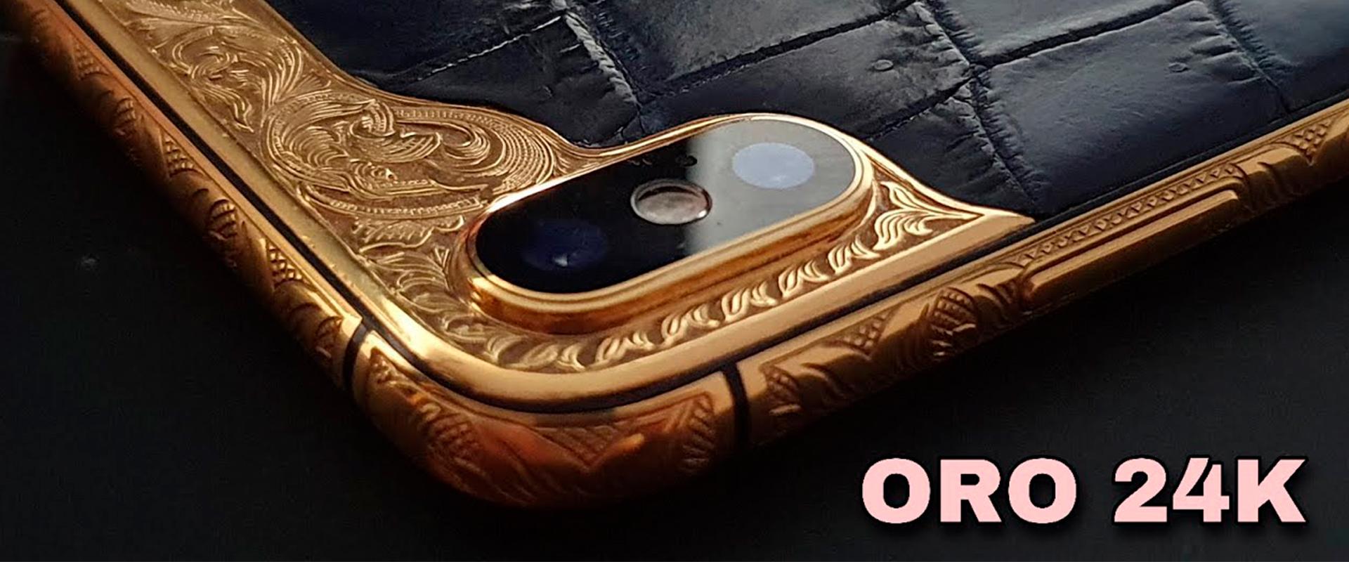 El iPhone de ORO de 24K ¡ÚNICO EN EL MUNDO!