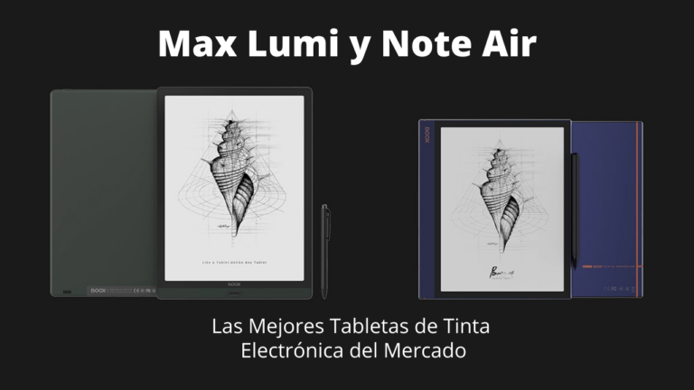 Max Lumi y Note Air