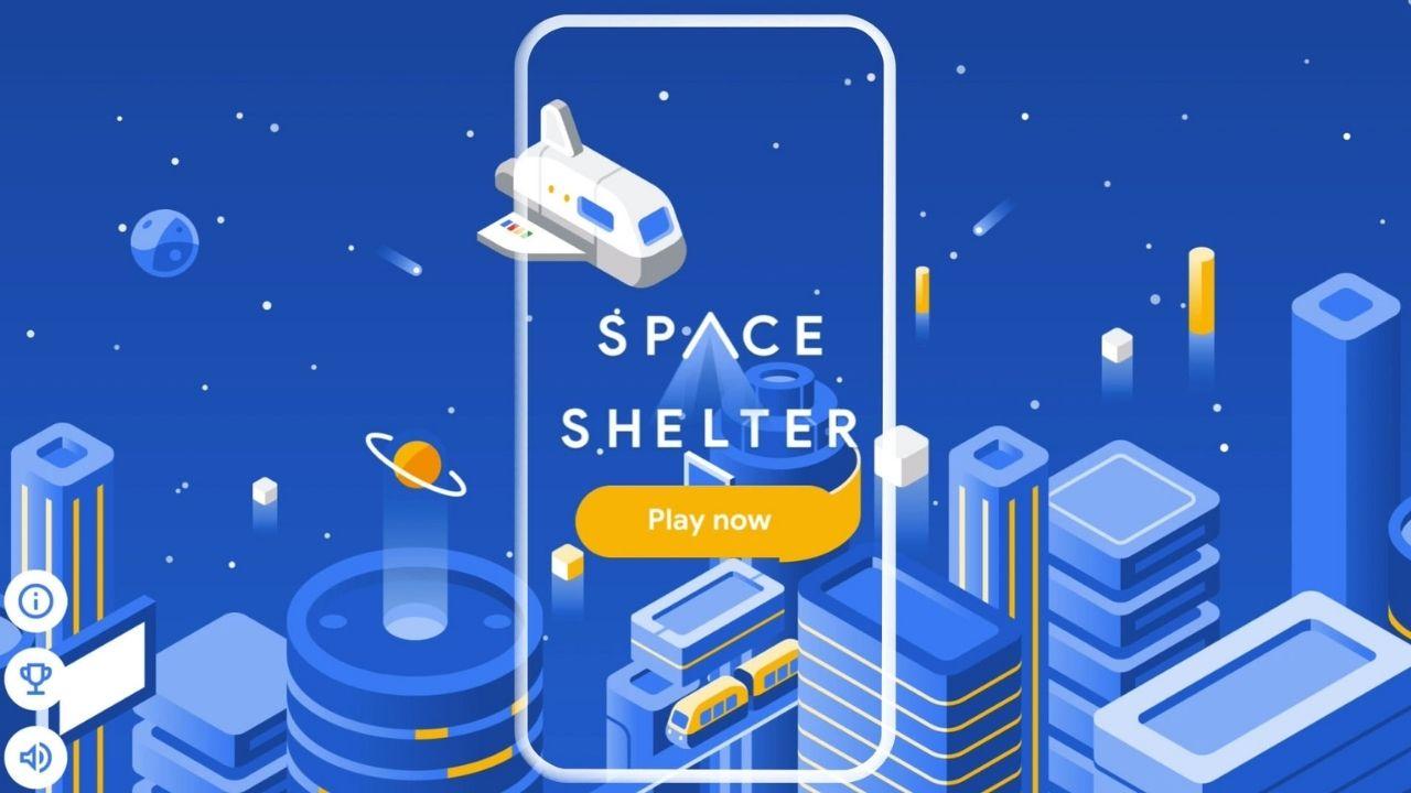 Space Shelter juego ciberseguridad